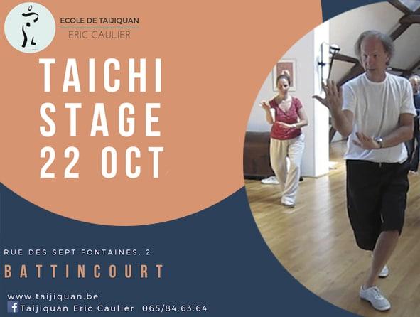Stage de taichi à Battincourt 22 octobre